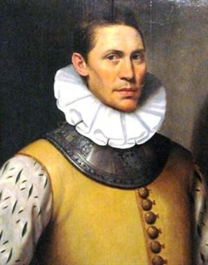 Portret van Dirck van Os, te bezichtigen in het Stedelijk Museum Alkmaar.