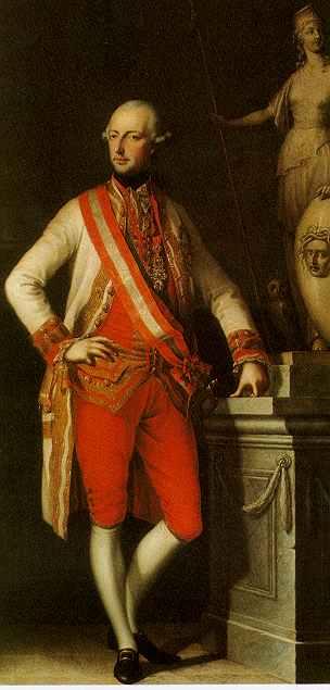 Portret van Jozef II