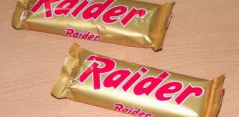 Toen Twix nog Raider heette