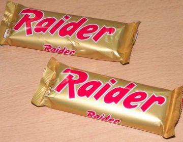 Raider, de vroegere Twix (CC BY-SA 3.0 - wiki - Paradoctor)