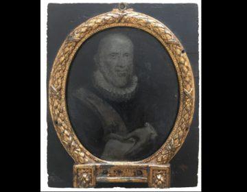 Arnoud van Halen, Portret van Roemer Visscher, 1700-1720, 11 x 9,5 cm, particuliere verzameling