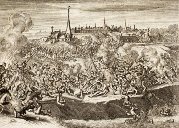 Hoe lang duurde de 80-jarige oorlog? - Slag bij Oosterweel - Begin van de Tachtigjarige Oorlog?
