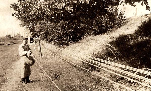 Wat is een lijnbaan? (Foto wiki)