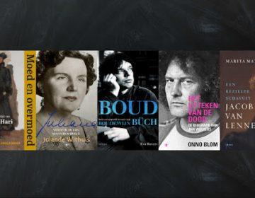 Vijf titels op shortlist Nederlandse Biografieprijs (2018)