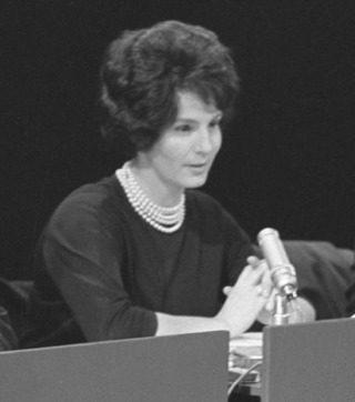 Mies Bouwman in het panel van Zo is het toevallig ook nog eens een keer, 1963 (CC0 - Joop van Bilsen / Anefo)
