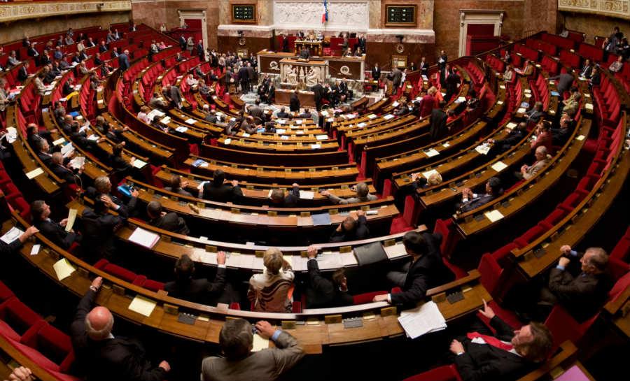 Directe en indirecte democratie - Het Franse parlement (CC BY-SA 3.0 - Richard Ying et Tangui Morlier - wiki)