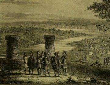 De Rubicon oversteken - Caesar steekt de rivier over