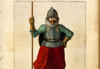 Detail uit de 'Wapenhandelinghe van Roers, Musquetten ende Spiessen' (Collectie KB)