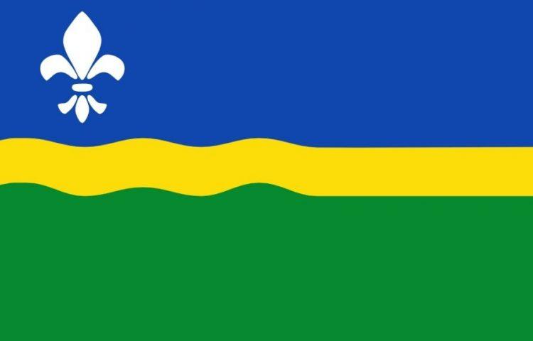 Volkslied van Flevoland - 'Waar wij steden doen verrijzen...' (Vlag van Flevoland)