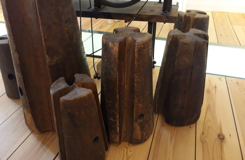 De klos zijn - Klossen in Touwmuseum Oudewater (Historiek)