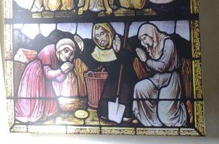 Sacrament van Niervaert op een afbeelding in de Grote Kerk in Breda (CC BY-SA 4.0 - G.Lanting - wiki)