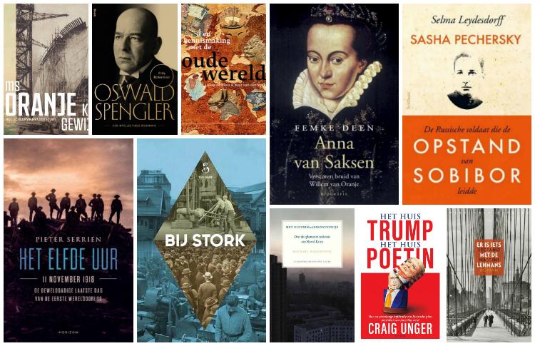 Nieuwe geschiedenisboeken (week 37) - 2018