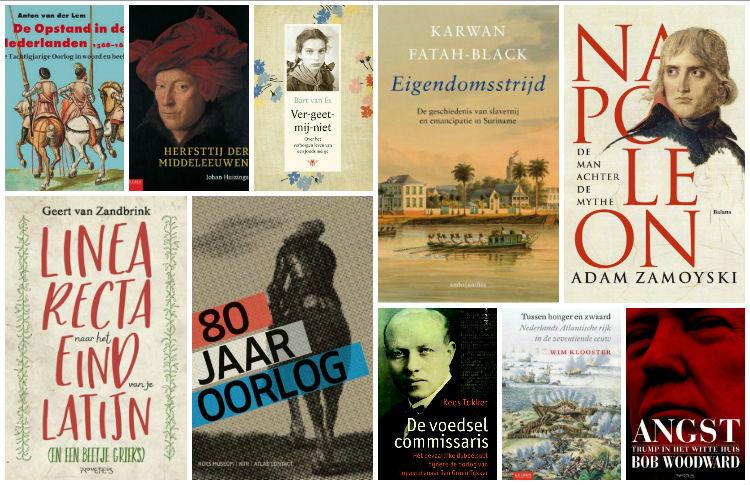 Nieuwe geschiedenisboeken (week 39) - 2018