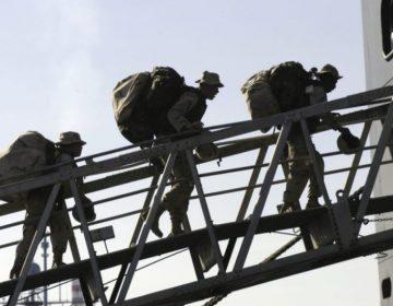 Amerikaanse mariniers op de valreep (Publiek Domein - U.S. Navy - wiki)