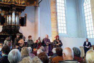 Eerste voorstelling in de Westerkerk in Enkhuizen.