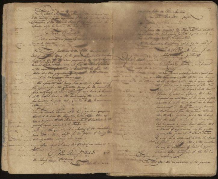 Een van de gedigitaliseerde pagina's (Nationaal Archief)