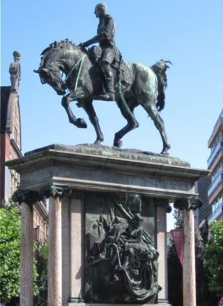 Jacques de Lalaing - Oostende Ruiterstandbeeld Leopold I (CC BY-SA 3.0 - wiki - Zeisterre)