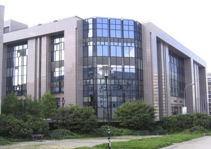 Justus Lipsiusgebouw in Brussel (CC BY-SA 3.0 - Gellerj - wiki)