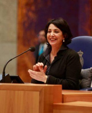 Khadija Arib, huidig voorzitter van de Tweede Kamer (CC BY 2.0 - wiki)