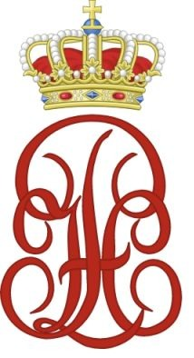 Monogram van Filips van België (CC BY-SA 3.0 - Glasshouse - wiki)