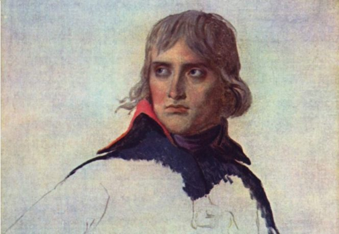 Napoleon in 1797, Jacques-Louis David