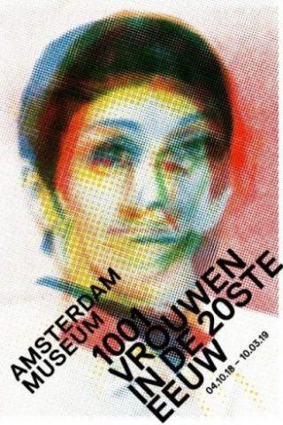 Poster voor de tentoonstelling, ontworpen door Irma Boom