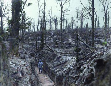 De Somme - Foto uit: 'De tijd in kleur. Beelden uit de wereldgeschiedenis 1850 – 1960' - Dan Jones en Marina Amaral, Uitgeverij Omniboek