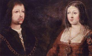 De Katholieke Vorsten - Huwelijksportret van de Katholieke Koningen, Isabella I van Castilië en Ferdinand II van Aragón (Publiek Domein - wiki)