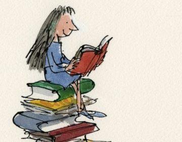 Matilda uit 'Matilda' van Roald Dahl © Quentin Blake, 1988