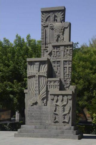 Monument voor de Armeense genocide in Ejmatsin