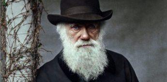 Welke kleur ogen had Charles Darwin?