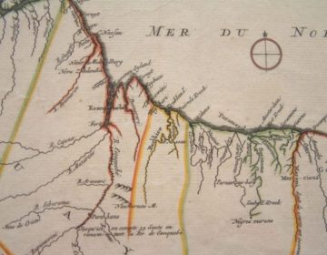 Nederlands-Guiana rond 1700