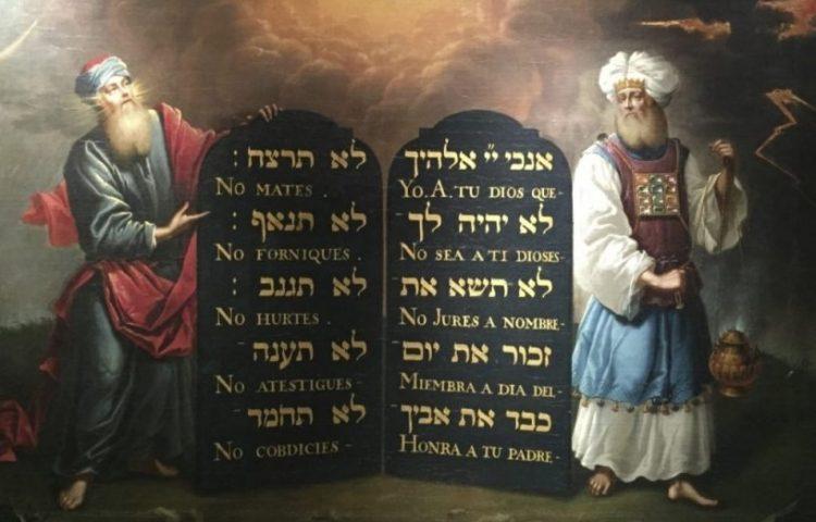 tien geboden - tekst en geschiedenis