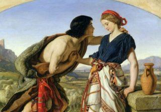 De ware jakob vinden - Jakob en Rachel, William Dyce (Publiek Domein - wiki)