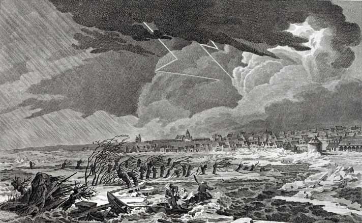 Storm voor Nijmegen, 1799