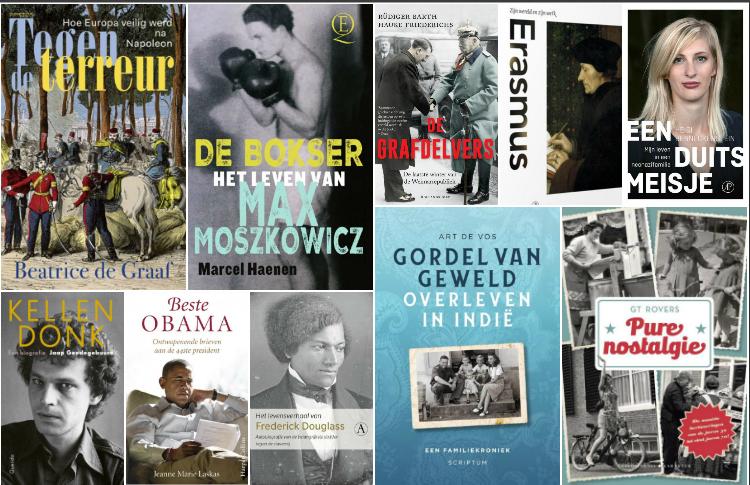 Nieuwe geschiedenisboeken (week 40) - 2018