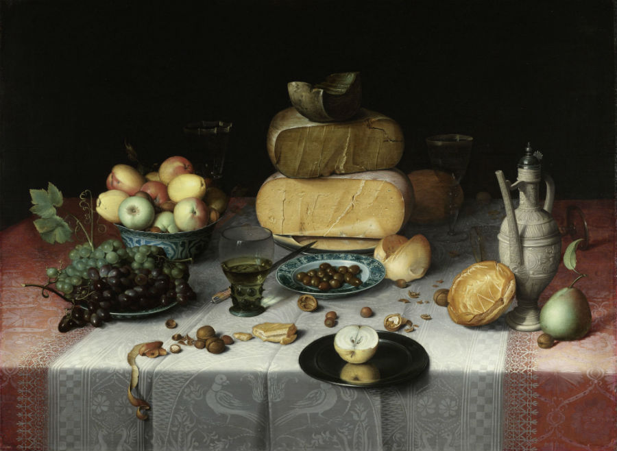 Stilleven van een 'ontbijtje' (Rijksmuseum, Amsterdam)
