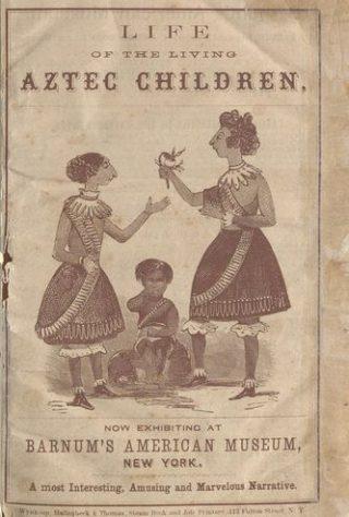 Programmaboekje van Barnum's American Museum. Connecticut Digital Archive | Brideport History Center Collections.