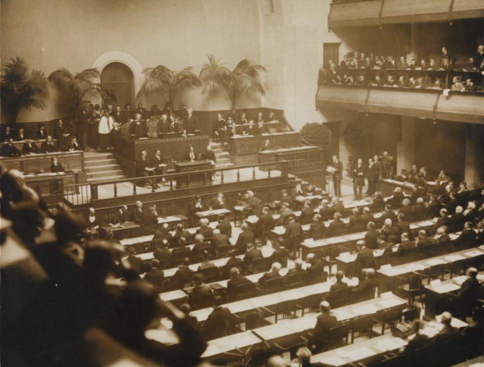 Bijeenkomst van de Volkenbond in 1920