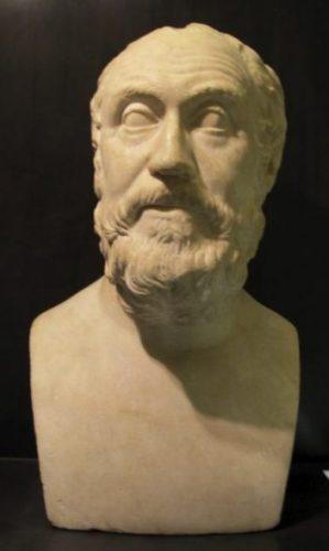 Buste van Carneades (CC BY-SA 3.0 - Sailko)