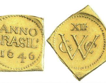 De Braziliaanse munt van 12 gulden (Nederlandsche Postzegel- en Muntenveiling)
