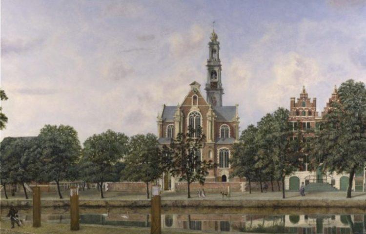 De Westerkerk in Amsterdam, 1660 - Jan van der Heyden