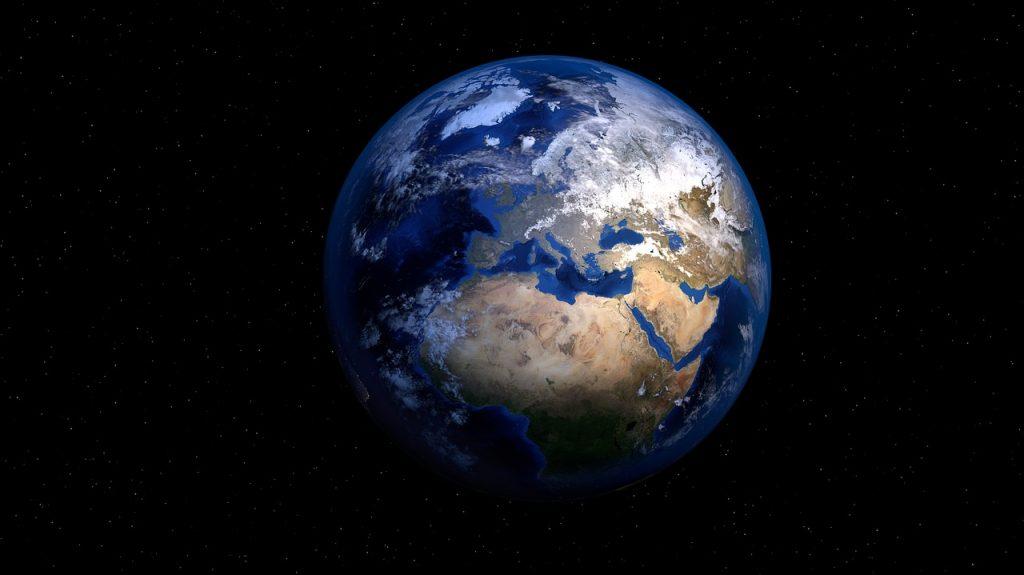 De aarde (CC0 - Pixabay - PIRO4D)