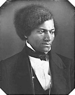 Frederick Douglass, ergens in de jaren 1840