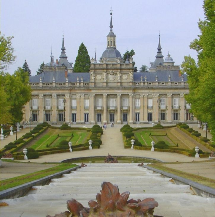 Het paleis La Granja (CC BY-SA 3.0 - wiki)