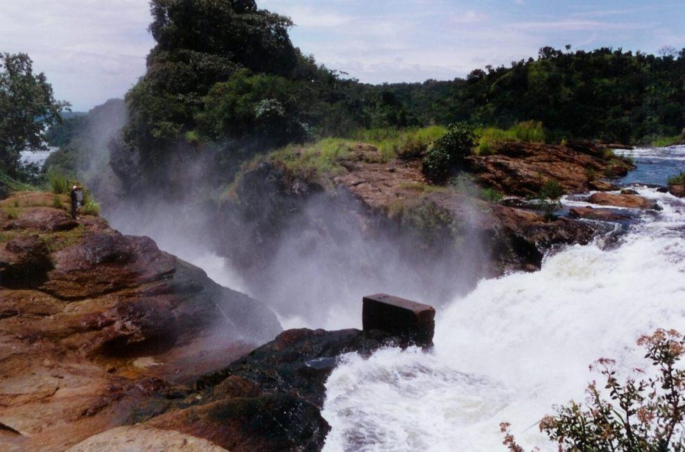 Murchison Falls (Publiek Domein - wiki - Oliver Sedlacek)