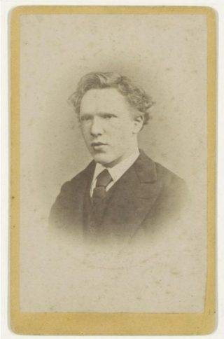 Portret van Vincent van Gogh uit 1872 (Publiek Domein - Jacobus Marinus Wilhelmus de Louw - wiki)