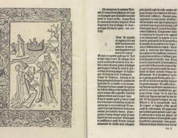 Twee pagina's uit het werk (KB)