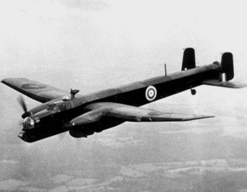Whitley bommenwerper van de RAF (Publiek Domein - RAF)