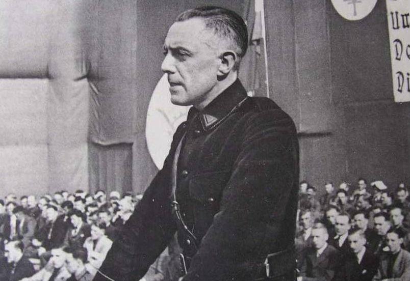 Joris Van Severen,  stichter van het Vlaams-nationalistische Verdinaso (Publiek Domein - wiki)